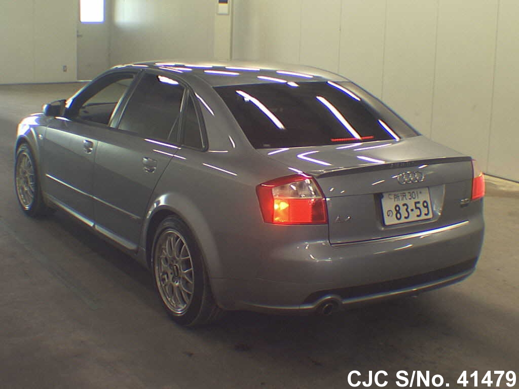2004 audi a4 silver for sale stock no 41479 japanese used cars exporter. Black Bedroom Furniture Sets. Home Design Ideas