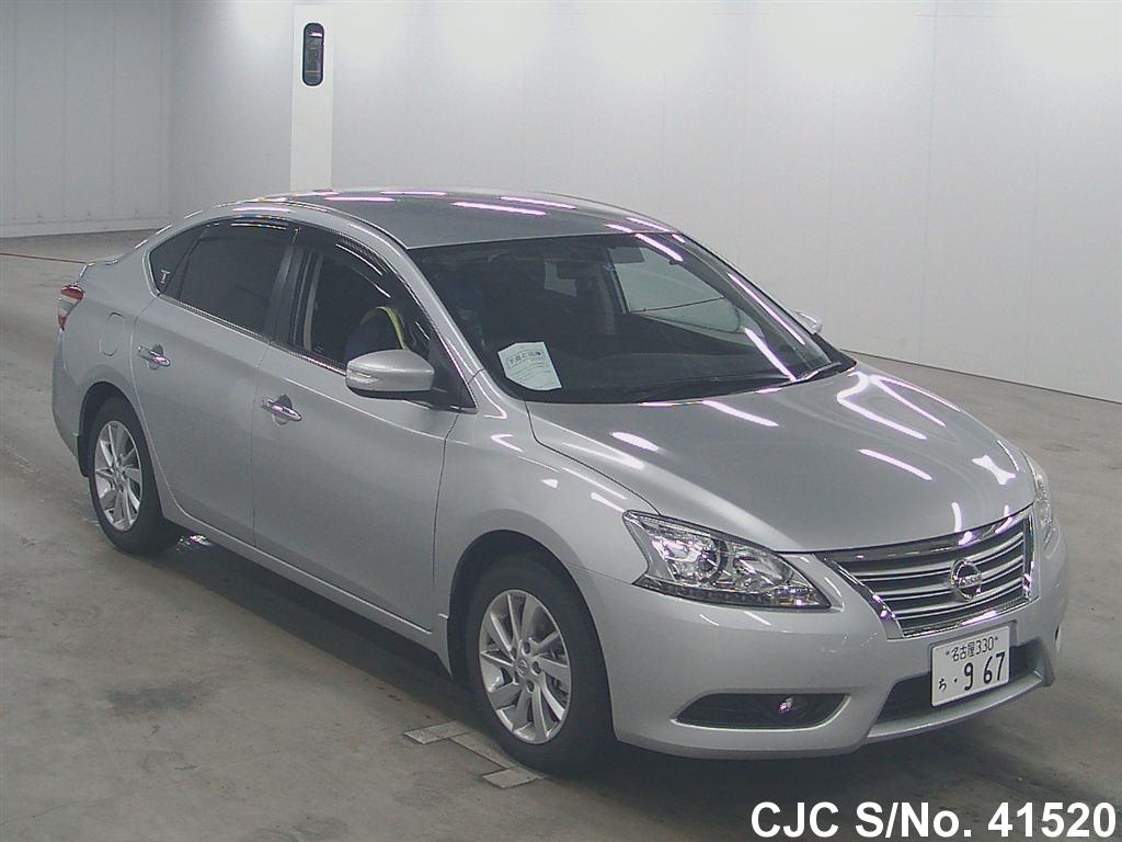 2014 Nissan Bluebird Sylphy Silver For Sale Stock No