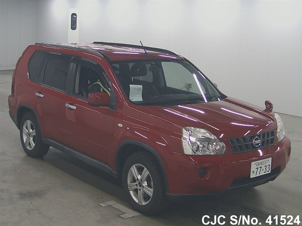 2008 Nissan X Trail Red For Sale Stock No 41524