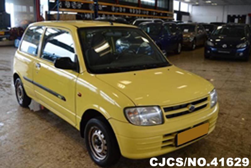 2000 Left Hand Daihatsu Cuore Yellow For Sale Stock No