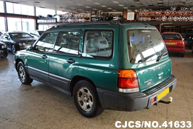 1998 left hand subaru forester green metallic for sale stock no 41633 left hand used cars. Black Bedroom Furniture Sets. Home Design Ideas