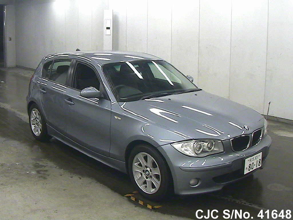 2005 bmw 1 series blue for sale stock no 41648 japanese used cars exporter. Black Bedroom Furniture Sets. Home Design Ideas