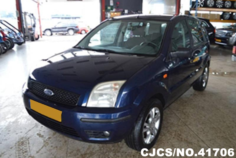 2003 left hand ford fusion blue metallic for sale stock no 41706 left hand used cars exporter. Black Bedroom Furniture Sets. Home Design Ideas