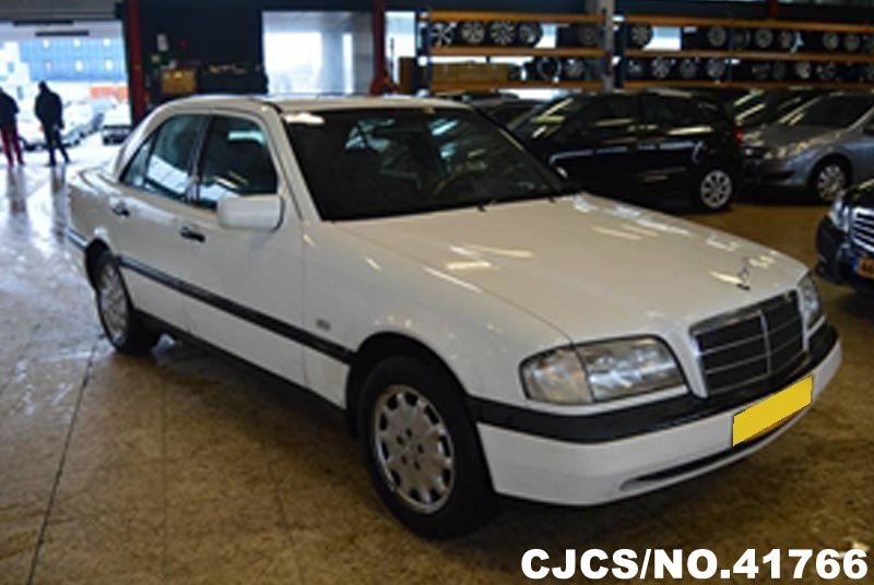 1996 left hand mercedes benz c class white for sale for 1996 mercedes benz c class