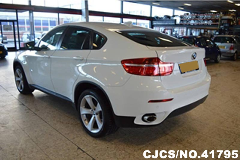 2010 left hand bmw x6 white for sale stock no 41795 left hand used cars exporter. Black Bedroom Furniture Sets. Home Design Ideas