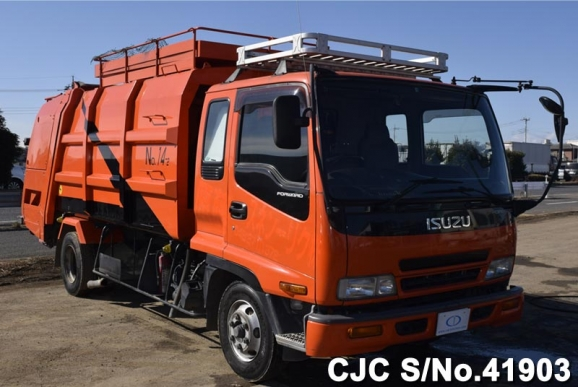 2004 isuzu forward truck for sale stock no 41903 japanese used cars exporter - Rd trash can for sale ...