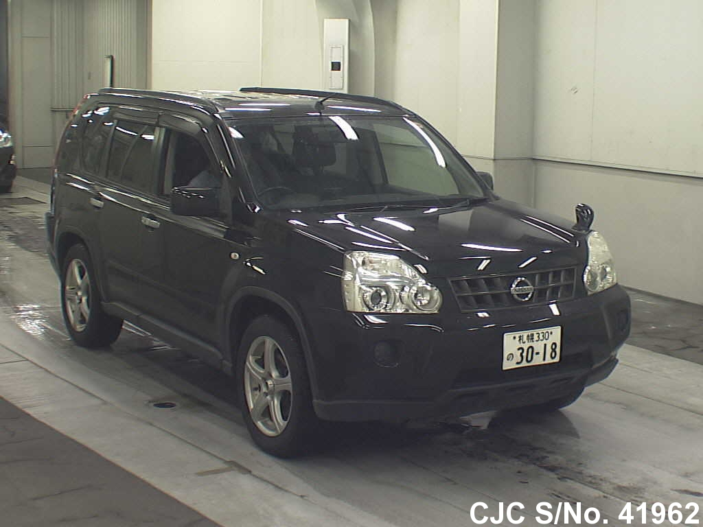 2008 Nissan X Trail Black For Sale Stock No 41962