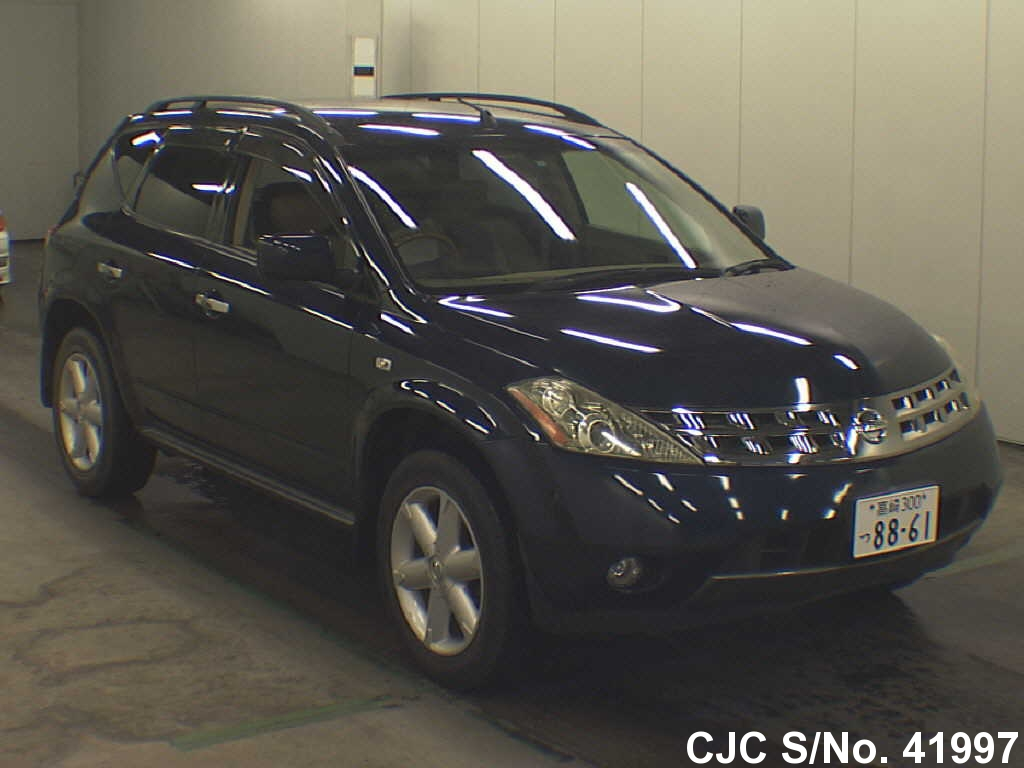 2005 nissan murano blue for sale stock no 41997. Black Bedroom Furniture Sets. Home Design Ideas