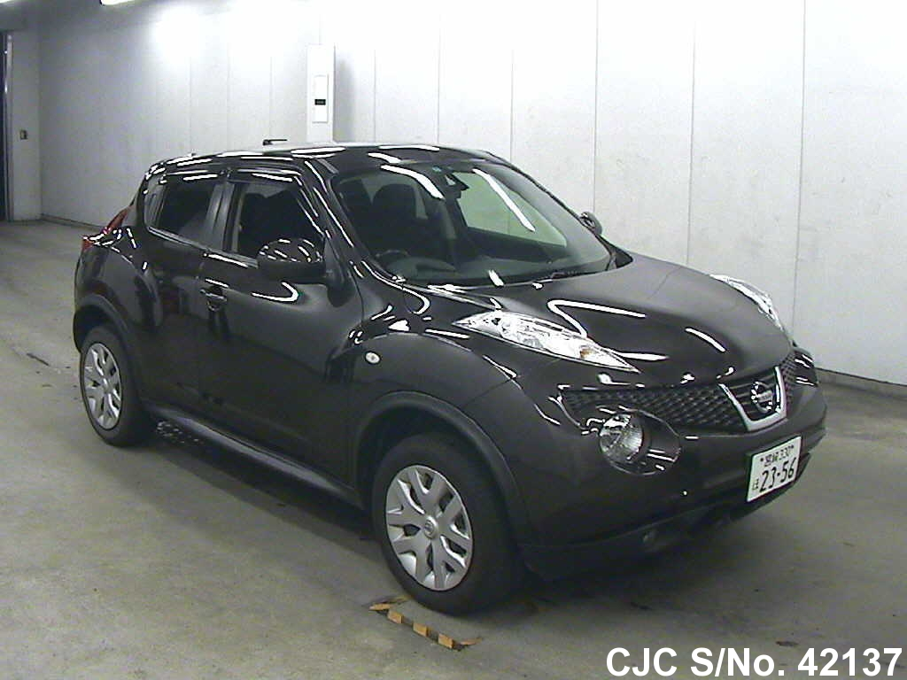 2012 nissan juke brown for sale stock no 42137 japanese used cars exporter. Black Bedroom Furniture Sets. Home Design Ideas