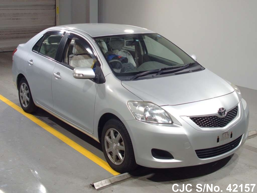 2009 toyota belta silver for sale
