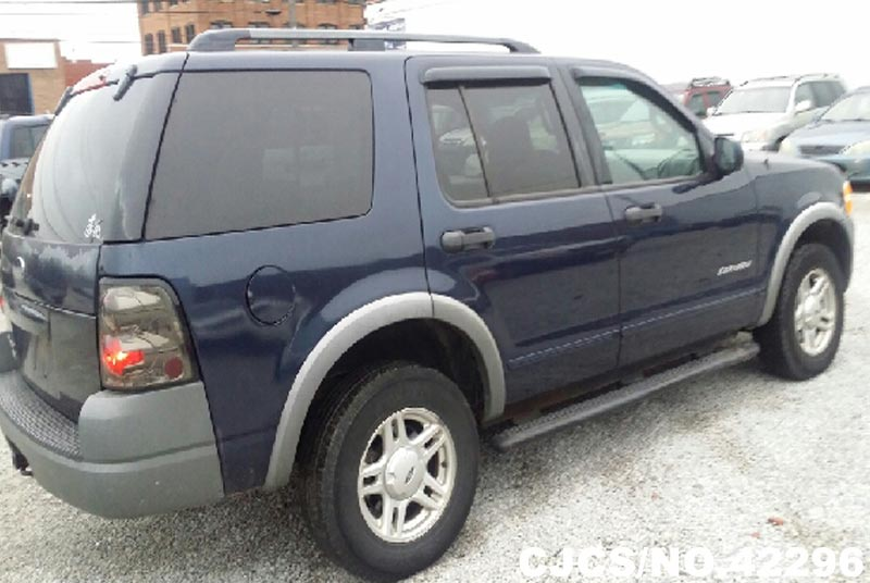 2002 left hand ford explorer blue for sale stock no 42296 left hand used cars exporter. Black Bedroom Furniture Sets. Home Design Ideas