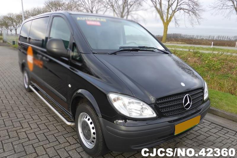 2009 Left Hand Mercedes Benz Vito Black for sale | Stock ...