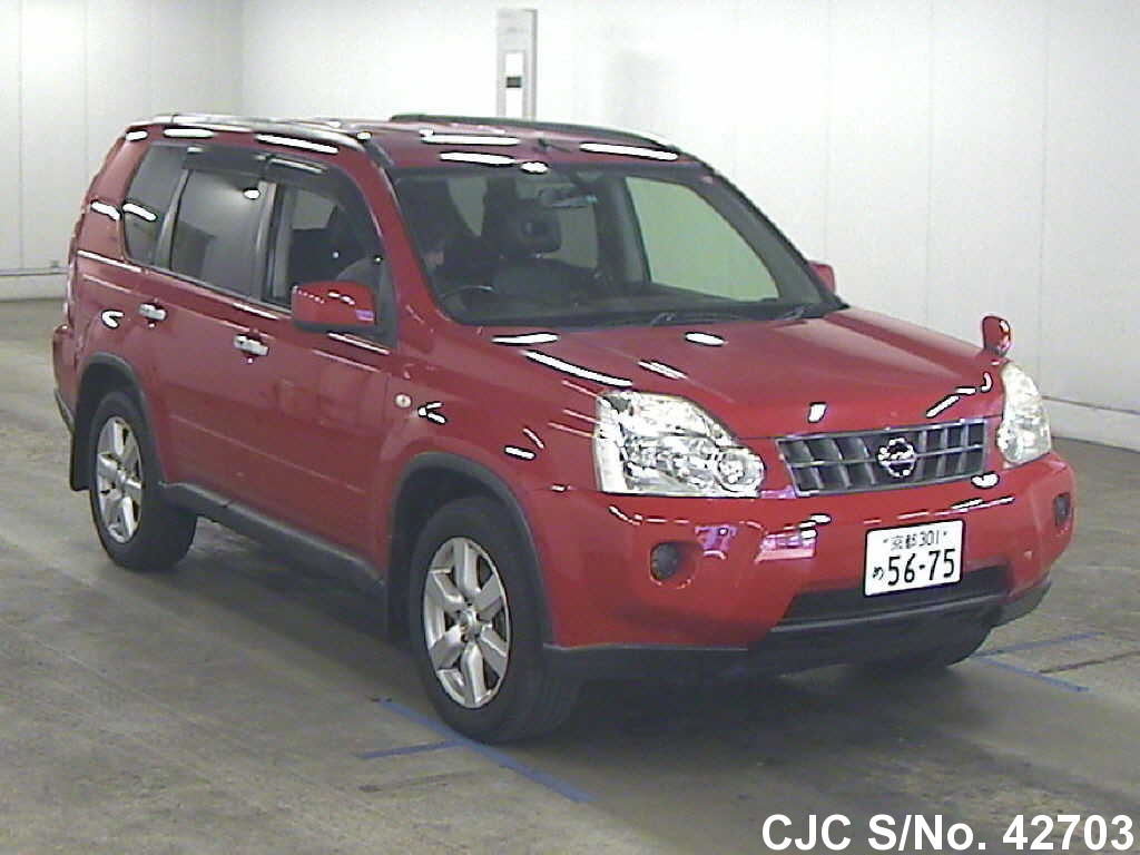 2008 Nissan X Trail Red For Sale Stock No 42703