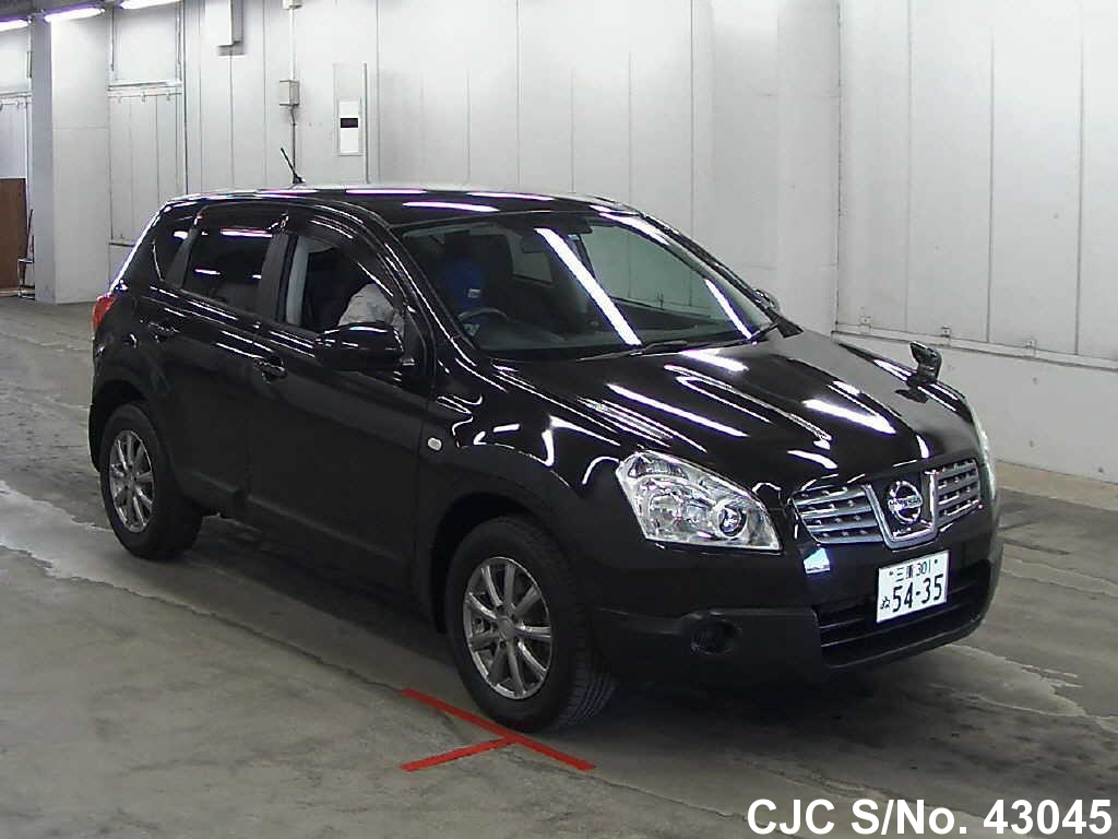 2007 nissan dualis black for sale stock no 43045
