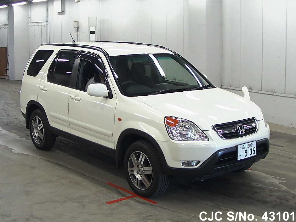 2003 honda crv pearl for sale stock no 43101 japanese used cars exporter. Black Bedroom Furniture Sets. Home Design Ideas