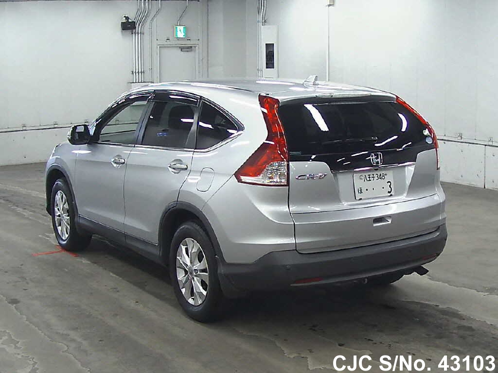 2012 honda crv silver for sale stock no 43103 japanese used cars exporter. Black Bedroom Furniture Sets. Home Design Ideas