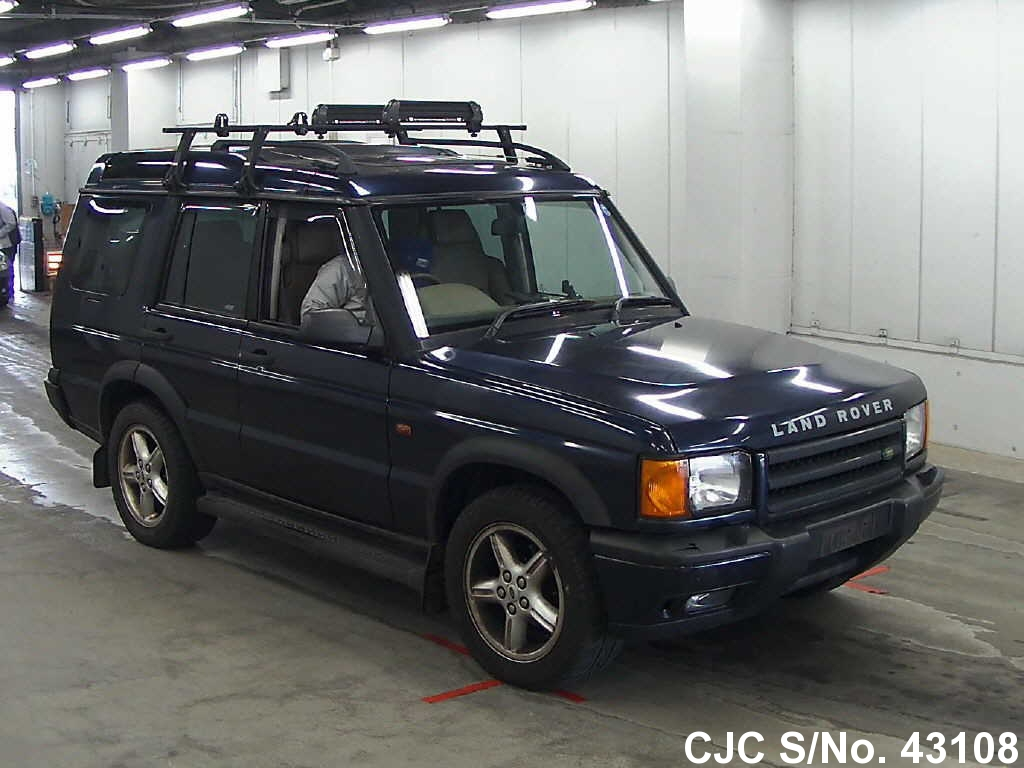 2001 land rover discovery blue for sale stock no 43108 japanese used cars exporter. Black Bedroom Furniture Sets. Home Design Ideas