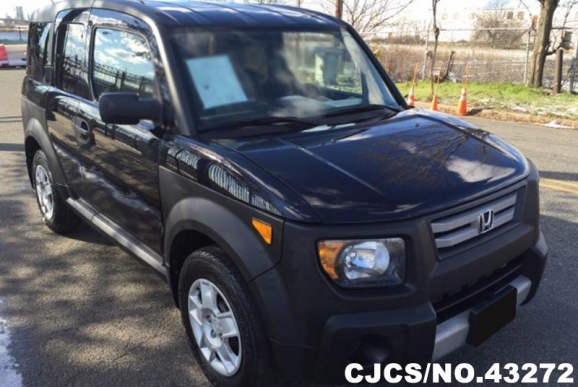 2008 left hand honda element black for sale stock no 43272 left hand used cars exporter. Black Bedroom Furniture Sets. Home Design Ideas