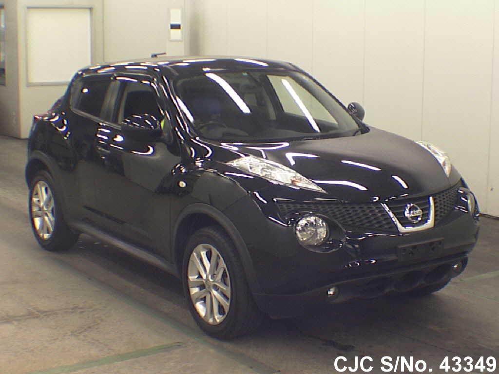 2013 nissan juke black for sale stock no 43349 japanese used cars exporter. Black Bedroom Furniture Sets. Home Design Ideas