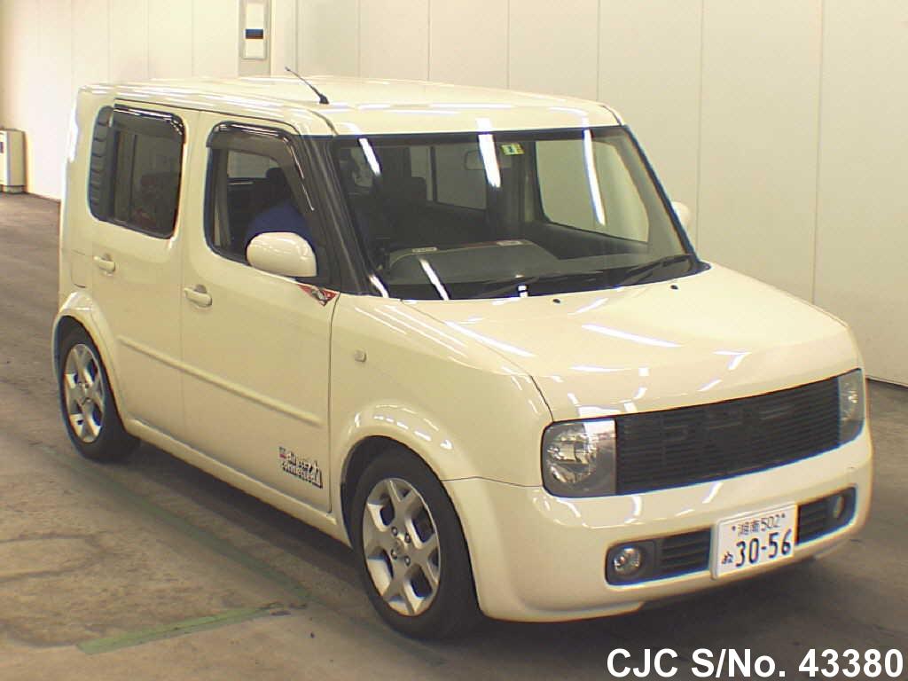 2003 nissan cube beige for sale stock no 43380 japanese used cars exporter. Black Bedroom Furniture Sets. Home Design Ideas