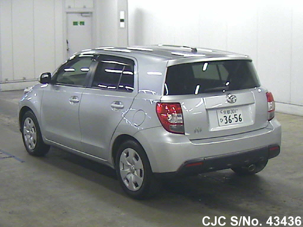 2007 Toyota Ist Silver For Sale Stock No 43436 Japanese Used Cars Exporter