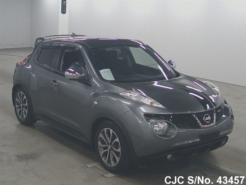 2010 nissan juke gray for sale stock no 43457 japanese used cars exporter. Black Bedroom Furniture Sets. Home Design Ideas