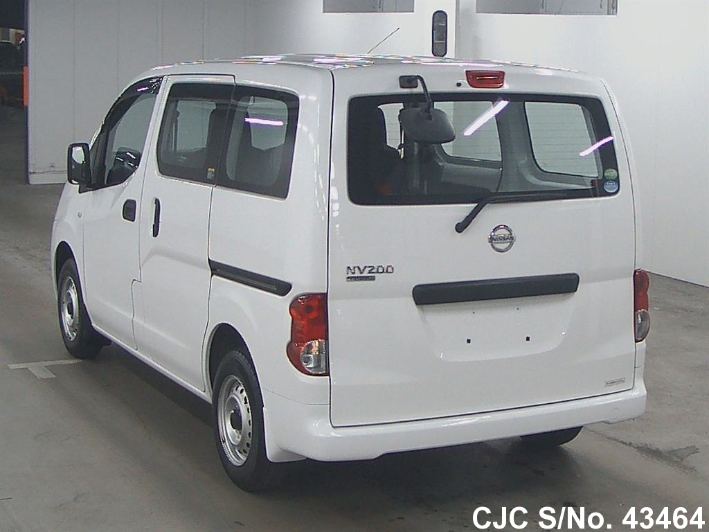 2013 nissan nv200 white for sale stock no 43464. Black Bedroom Furniture Sets. Home Design Ideas