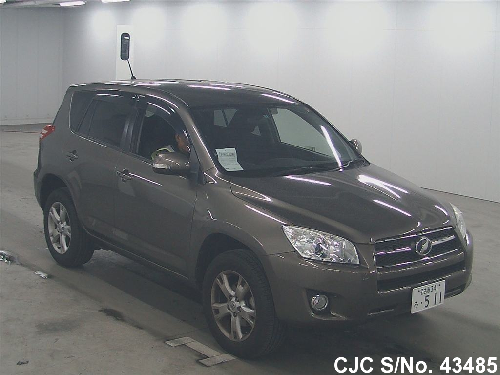 2011 toyota rav4 brown for sale stock no 43485 japanese used cars exporter. Black Bedroom Furniture Sets. Home Design Ideas