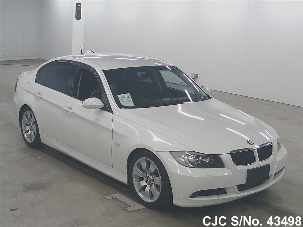 2005 bmw 3 series white for sale stock no 43498 japanese used cars exporter. Black Bedroom Furniture Sets. Home Design Ideas
