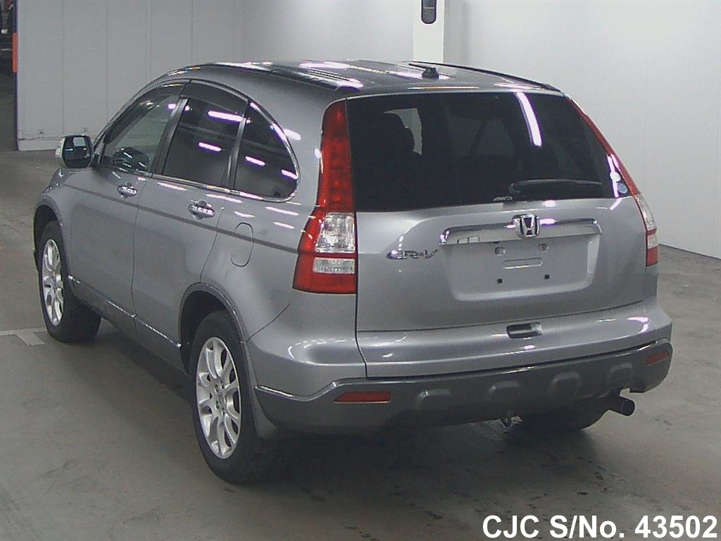 2006 honda crv silver for sale stock no 43502 japanese used cars exporter. Black Bedroom Furniture Sets. Home Design Ideas