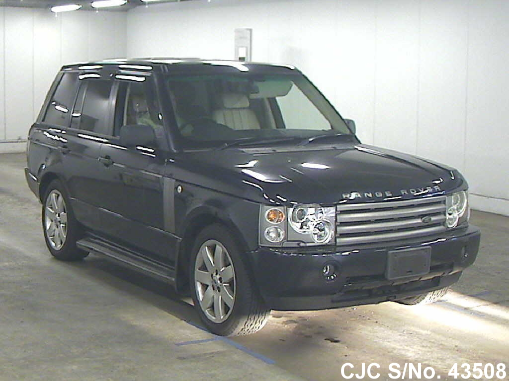 2003 land rover range rover blue for sale stock no 43508 japanese used cars exporter. Black Bedroom Furniture Sets. Home Design Ideas
