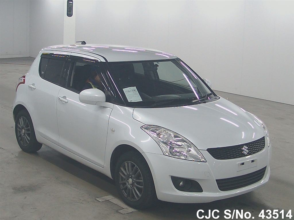 2010 suzuki swift pearl for sale stock no 43514. Black Bedroom Furniture Sets. Home Design Ideas
