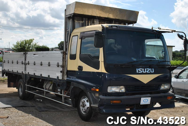 1995 isuzu forward truck for sale stock no 43528 japanese used cars exporter. Black Bedroom Furniture Sets. Home Design Ideas