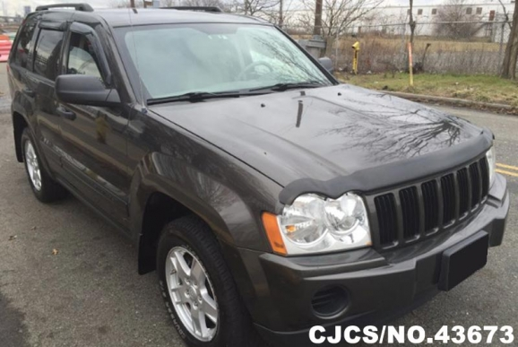 2005 left hand jeep grand cherokee gray for sale stock no 43673 left hand used cars exporter. Black Bedroom Furniture Sets. Home Design Ideas