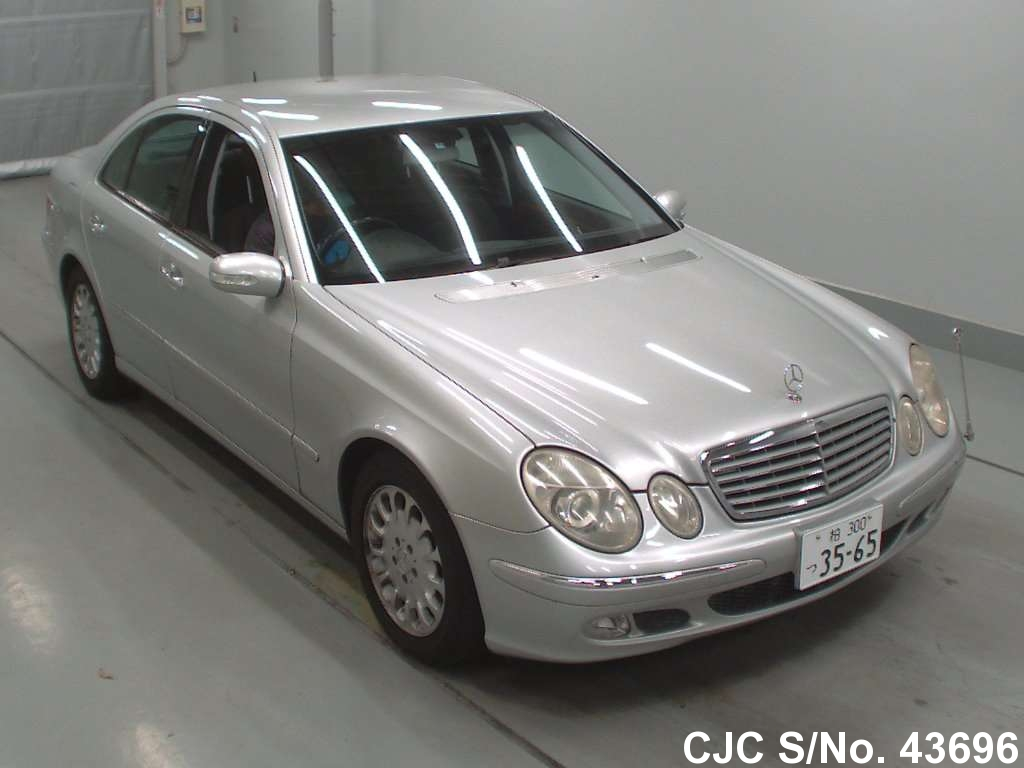 2003 mercedes benz e class silver for sale stock no. Black Bedroom Furniture Sets. Home Design Ideas