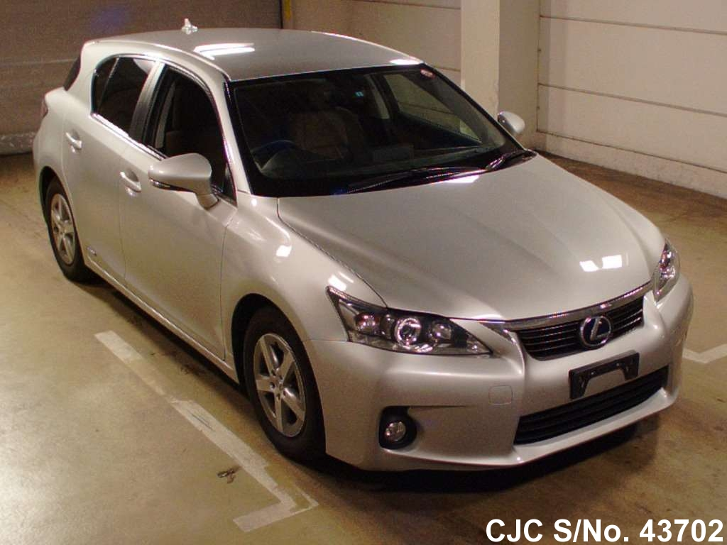 2011 lexus ct200h silver for sale stock no 43702 japanese used cars exporter. Black Bedroom Furniture Sets. Home Design Ideas