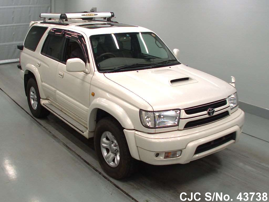 2002 toyota hilux surf 4runner pearl for sale stock no 43738 japanese used cars exporter. Black Bedroom Furniture Sets. Home Design Ideas