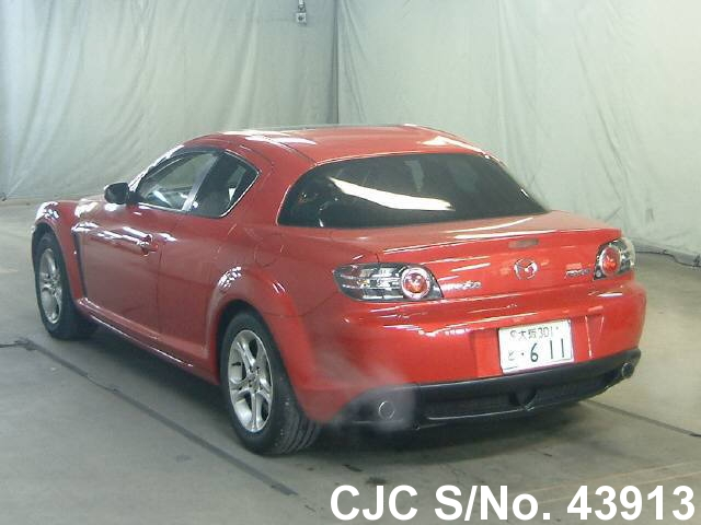 2005 mazda rx 8 red for sale stock no 43913 japanese used cars exporter. Black Bedroom Furniture Sets. Home Design Ideas