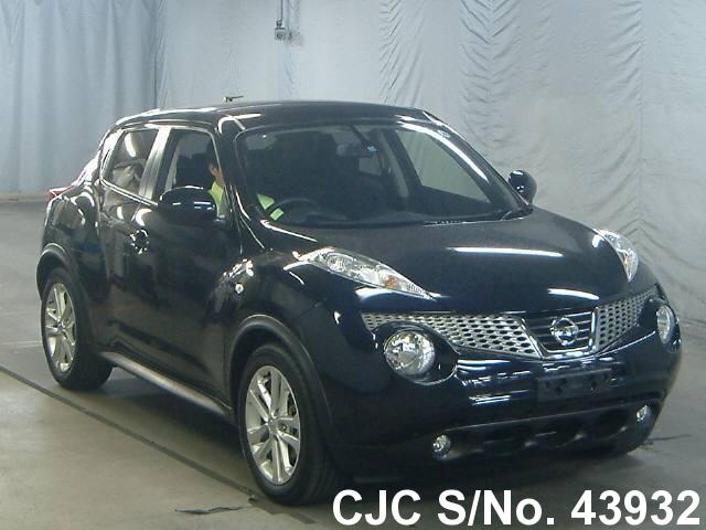 2012 nissan juke black for sale stock no 43932 japanese used cars exporter. Black Bedroom Furniture Sets. Home Design Ideas