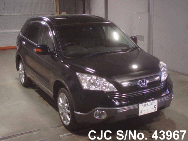 2008 honda crv black for sale stock no 43967 japanese used cars exporter. Black Bedroom Furniture Sets. Home Design Ideas
