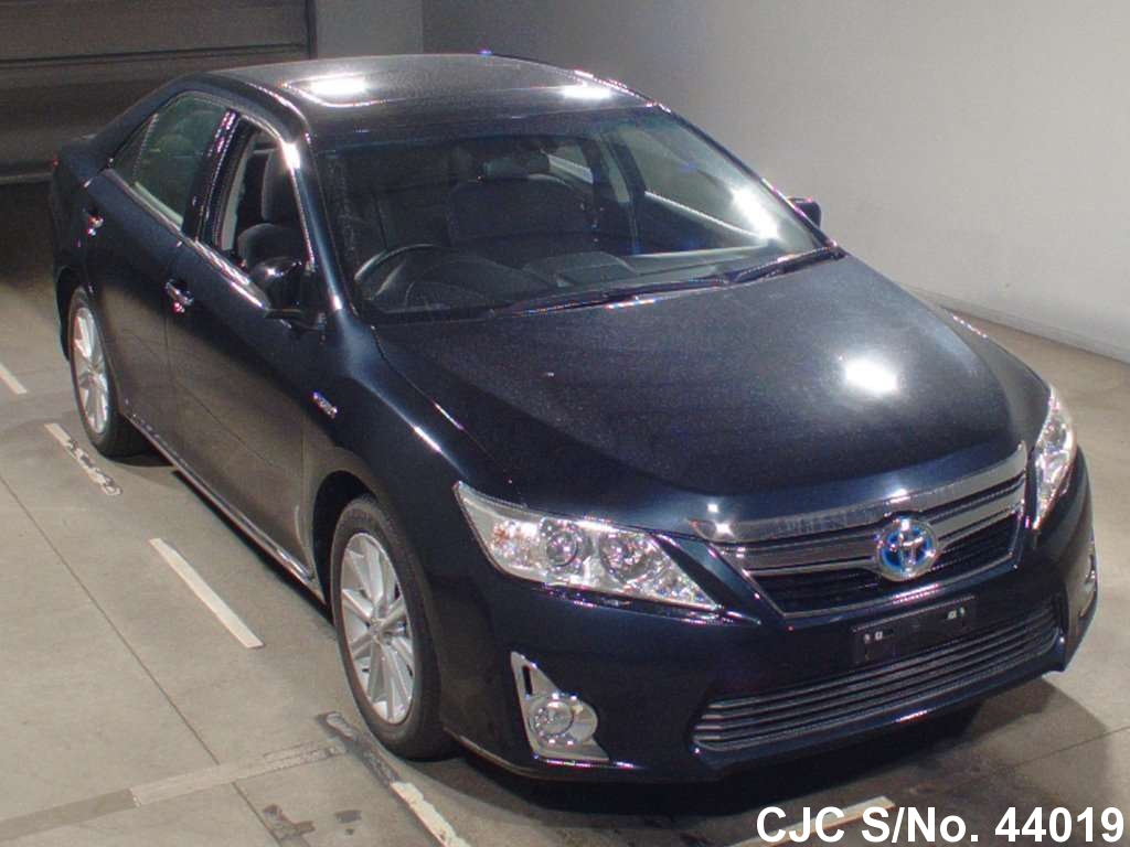 2012 toyota camry gray for sale stock no 44019 japanese used cars exporter. Black Bedroom Furniture Sets. Home Design Ideas