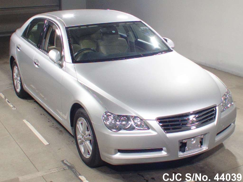 Rhd Vehicles For Sale >> 2008 Toyota Mark X Silver for sale | Stock No. 44039