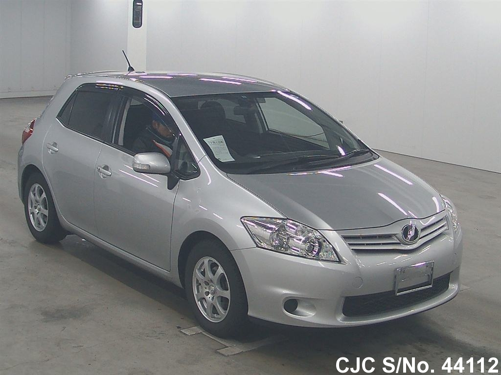 2011 toyota auris silver for sale stock no 44112. Black Bedroom Furniture Sets. Home Design Ideas