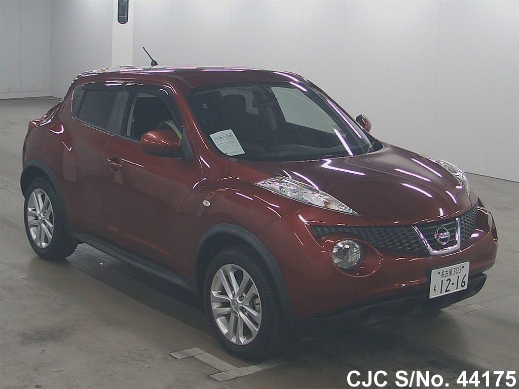 2010 nissan juke red for sale stock no 44175 japanese used cars exporter. Black Bedroom Furniture Sets. Home Design Ideas