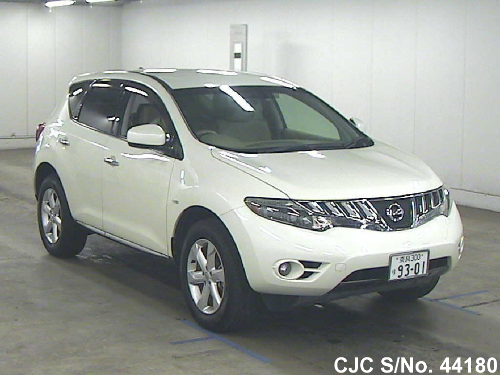 2008 nissan murano pearl for sale stock no 44180 japanese used cars exporter. Black Bedroom Furniture Sets. Home Design Ideas