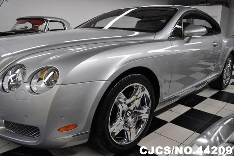 2004 left hand bentley continental gt silky silver. Black Bedroom Furniture Sets. Home Design Ideas