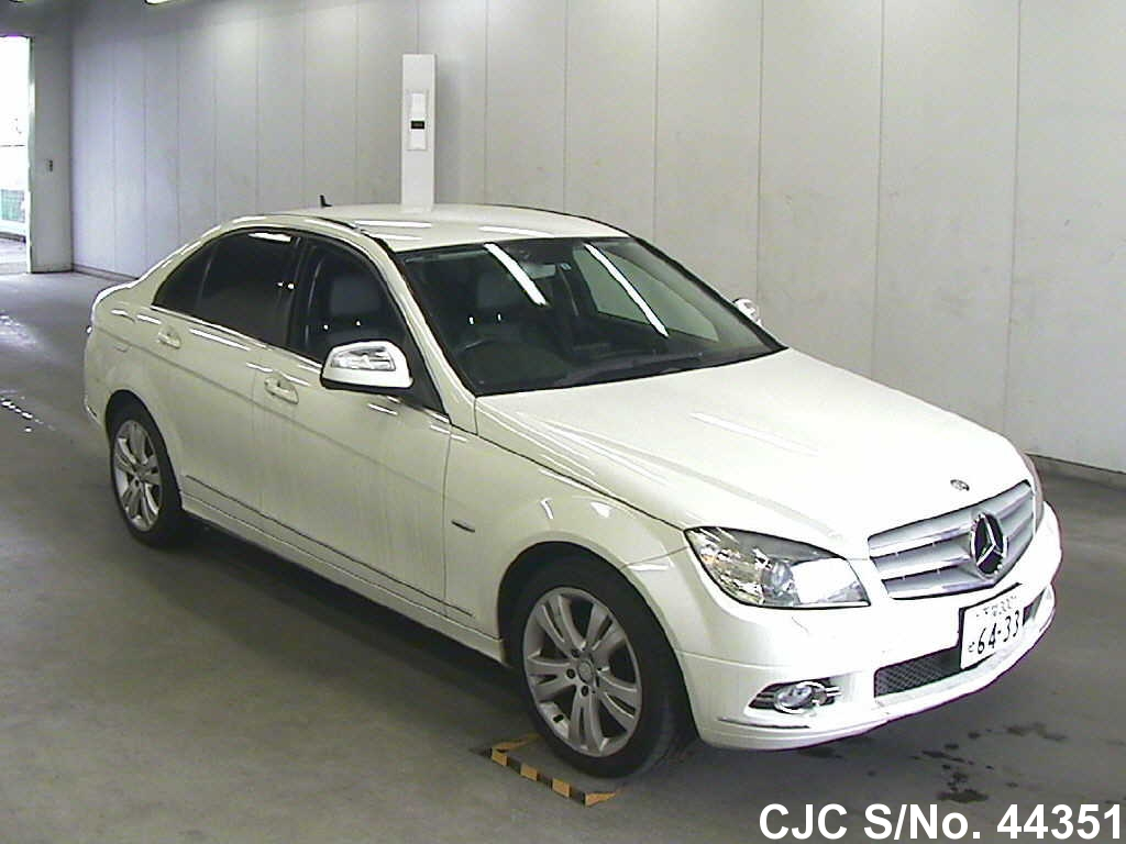 2007 mercedes benz c class white for sale stock no for Mercedes benz c class white