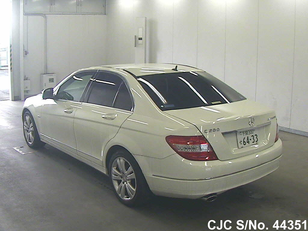 2007 Mercedes Benz C Class White For Sale Stock No