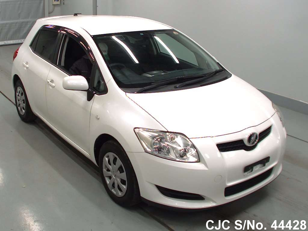 2008 toyota auris pearl for sale stock no 44428 japanese used cars exporter. Black Bedroom Furniture Sets. Home Design Ideas