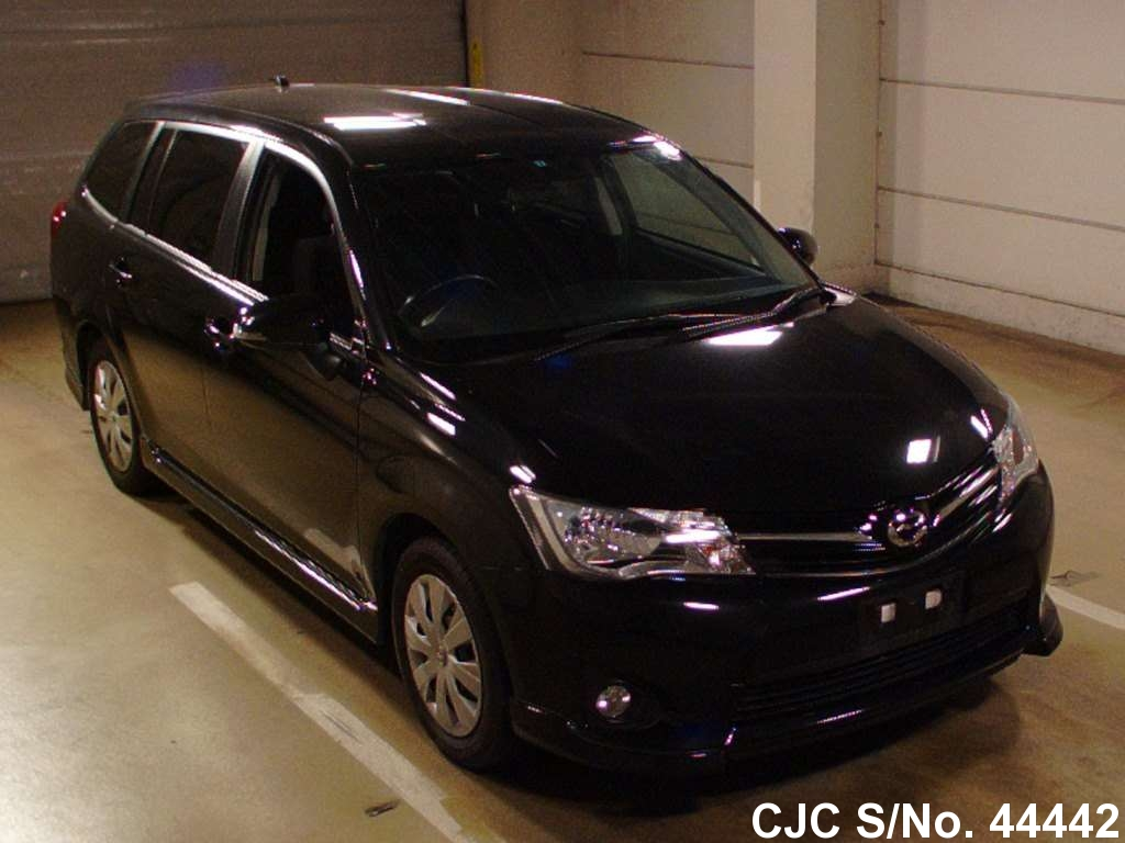 2013 toyota corolla fielder black for sale stock no 44442 rh carjunction com Toyota Corolla Fielder Z 2011 Toyota Corolla Fielder